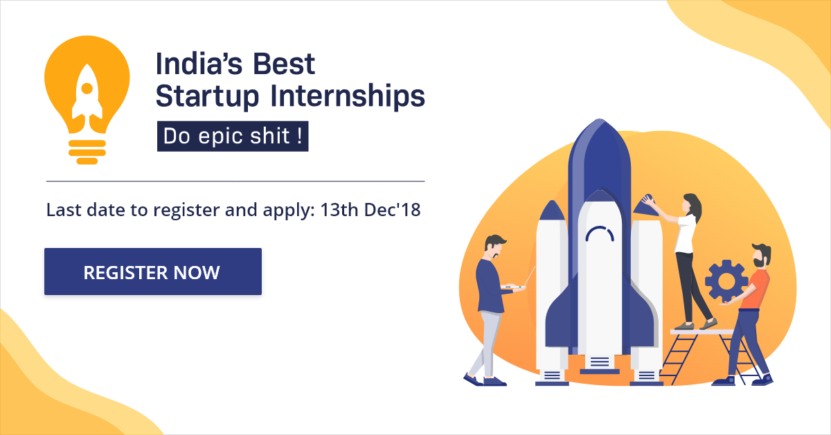 India's Best Startup Internships | Internshala